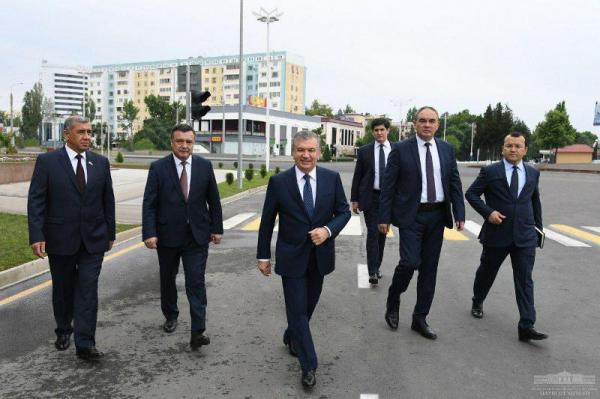 Президент Талабалар шаҳарчасига ташриф буюрди