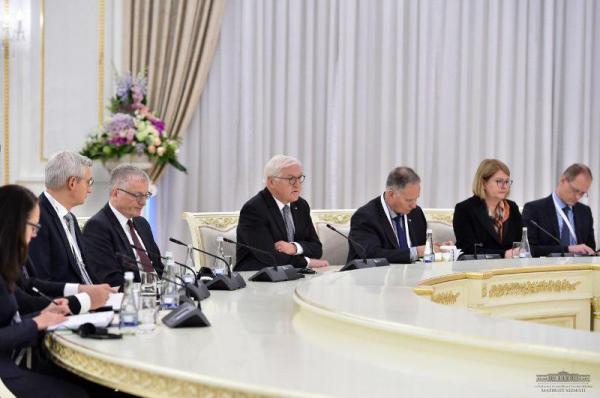 Ўзбекистон ва Германия Президентлари музокаралар ўтказди