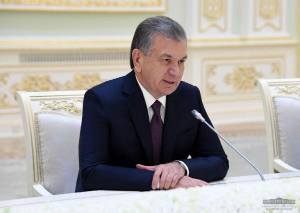 Ўзбекистон Республикаси Президенти Россия Федерацияси Ҳукумати Раисини қабул қилди