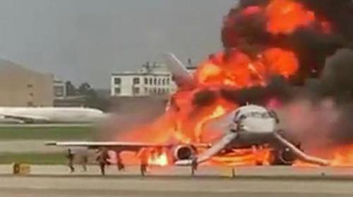 В ужасной катастрофе Superjet в Шереметьево погибли 41 человек. Одна из причин возгорания - молния, ударившая в борт