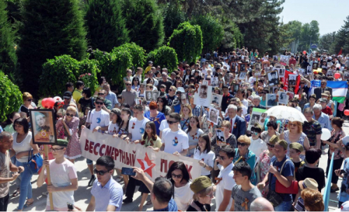 Хокимият передумал: шествие «Бессмертного полка» отменено за два дня до праздника из-за отсутствия разрешения