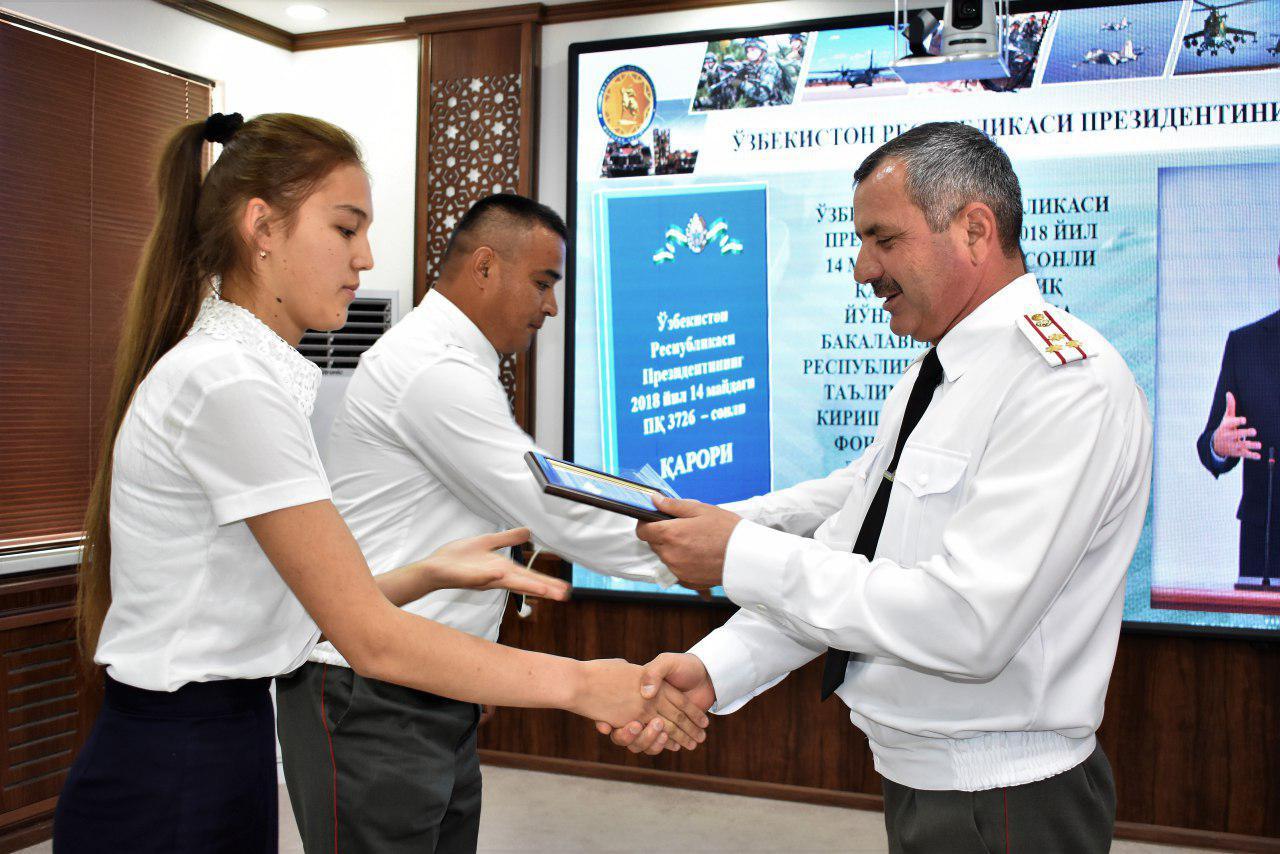 Дети военнослужащих получили рекомендации на льготное поступление в вузы страны
