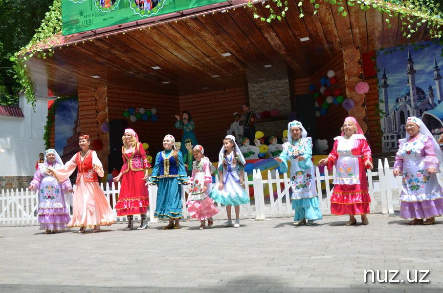 Сабантуй шумно отметили в Ташкенте