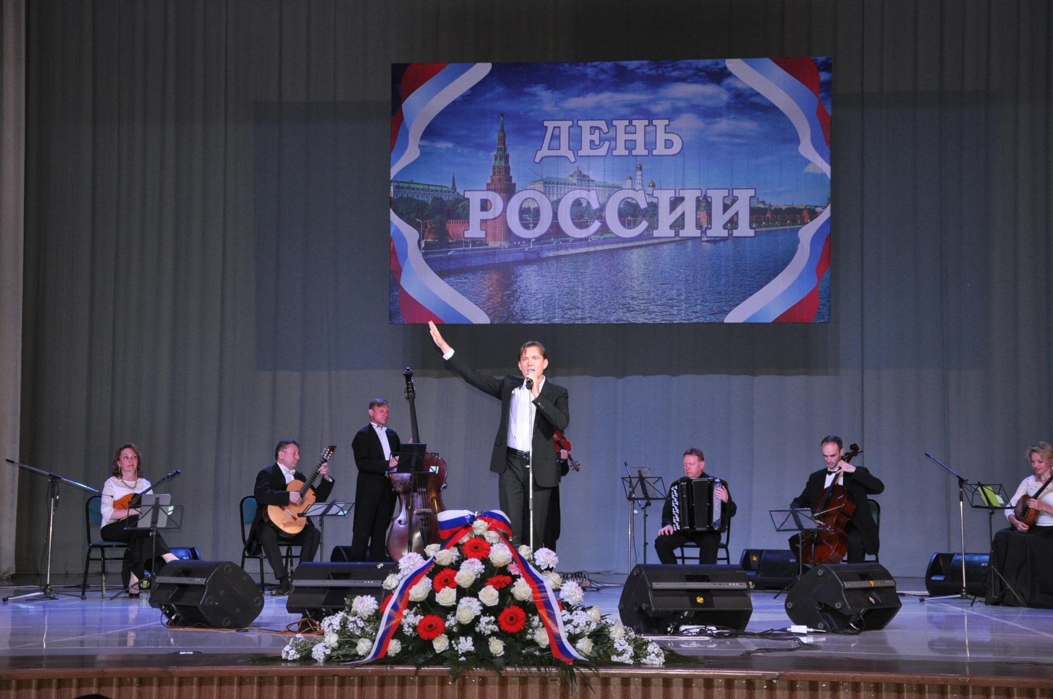 Народный артист России Олег Погудин выступил в Ташкенте