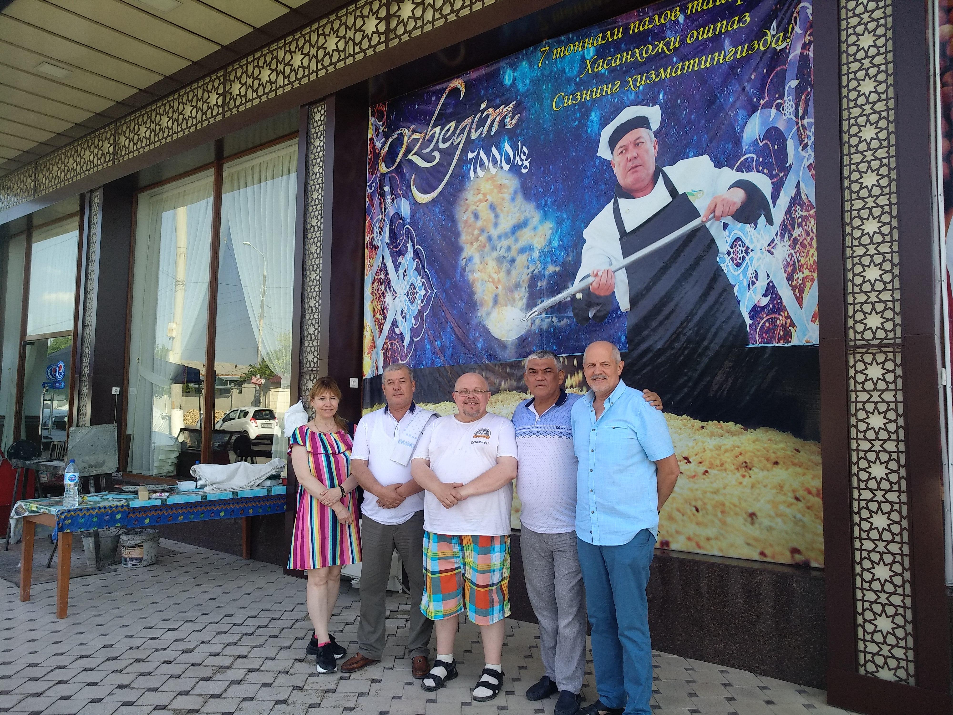 Литовские ошпазы в поездке по Узбекистану