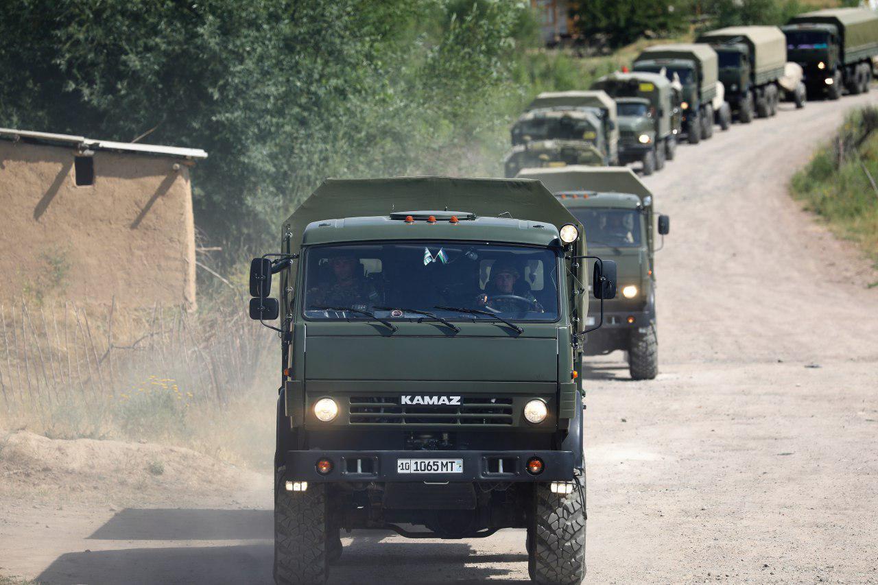 Войска Ташкентского военного округа приведены в высшую степень боевой готовности