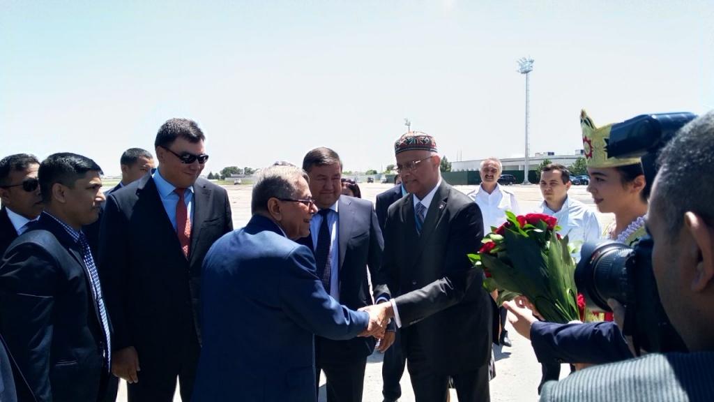 Президент Бангладеш Абдул Хамид посетил Узбекистан с частным визитом