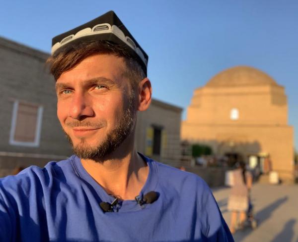 «Отпуск без путевки» начал съемки передачи об Узбекистане с Хивы