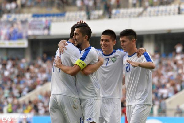 Сборная Узбекистана одержала уверенную победу над сборной Сирии