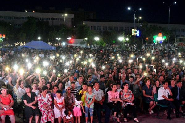Зрителями первого концерта проекта «Open Air. Sahro Simfoniyasi» стали шесть тысяч человек