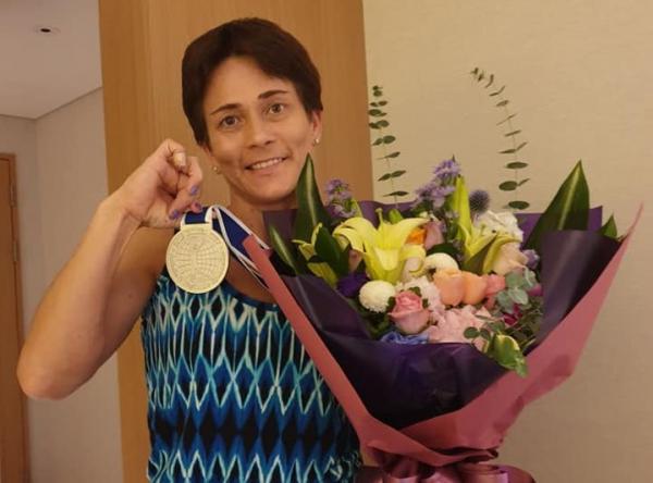 Оксана Чусовитина завоевала серебро на соревнованиях в Южной Корее