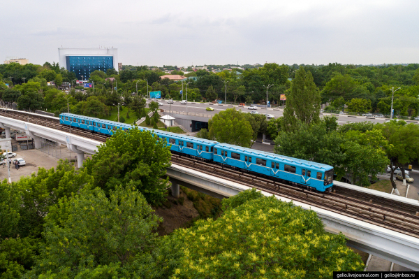 Фотограф из Новосибирска опубликовал большую серию снимков «Ташкент с высоты»