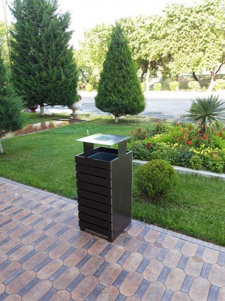 «Махсустранс» предлагает хокимияту установить в Ташкенте более 66 тысяч мусорных урн