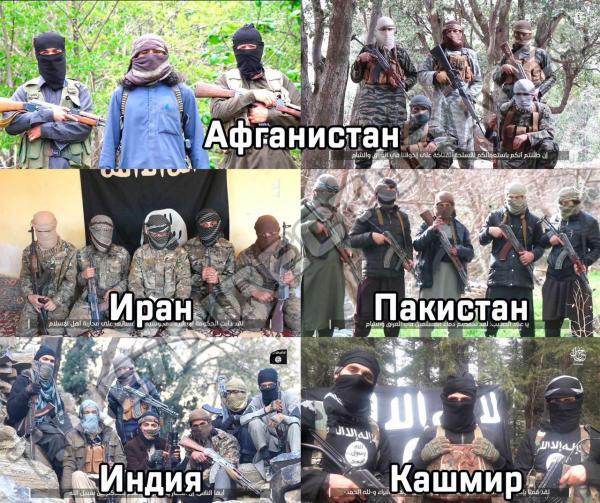 "Исламское государство опубликовало видео из т.н. ""вилаята Хуросан"""