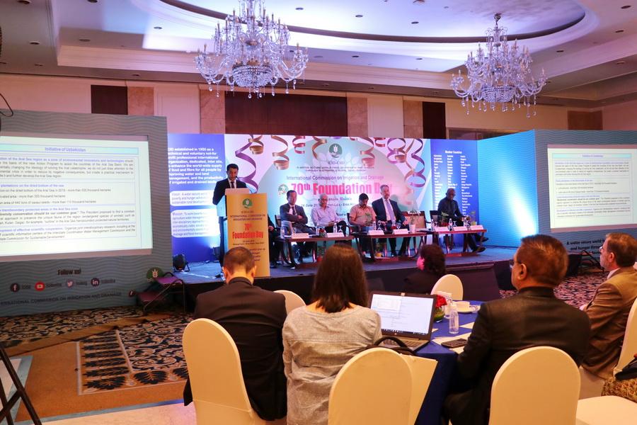 В Дели обсудили вопросы водной безопасности и устойчивого развития