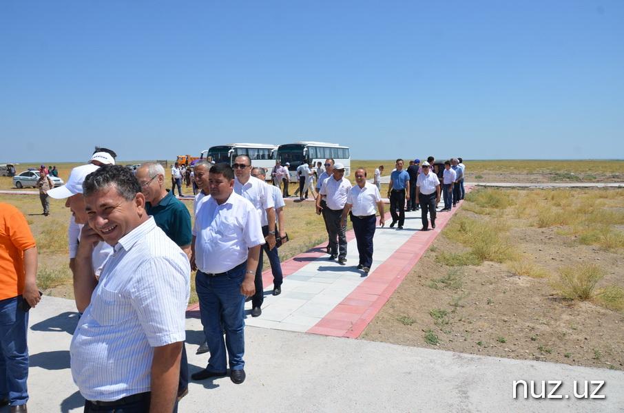 Депутаты провели общественные слушания и ознакомились с ходом работ на площадке строительства АЭС