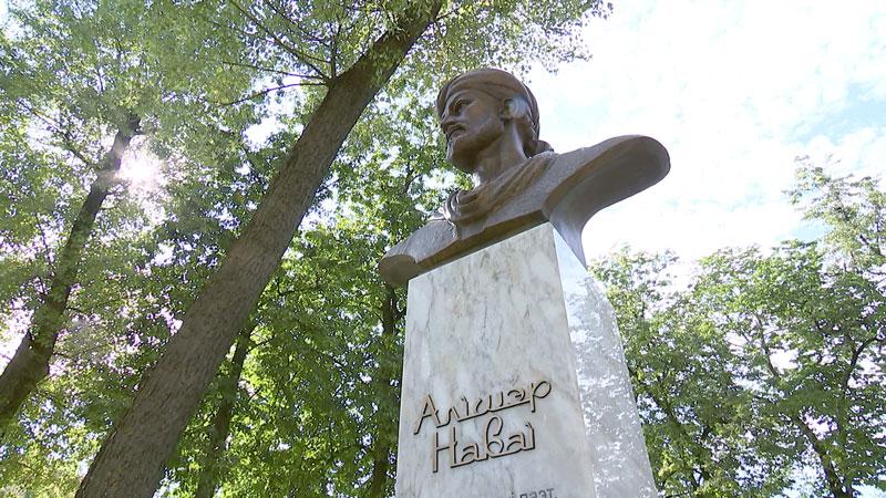 Памятник-бюст узбекскому поэту Алишеру Навои открыли в Минске