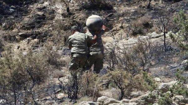 Ракета российского производства из Сирии упала близ Ташкента на Кипре