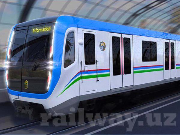 Для надземной линии ташкентского метрополитена заказаны пять составов с кондиционерами и ультрафиолетовыми лампами