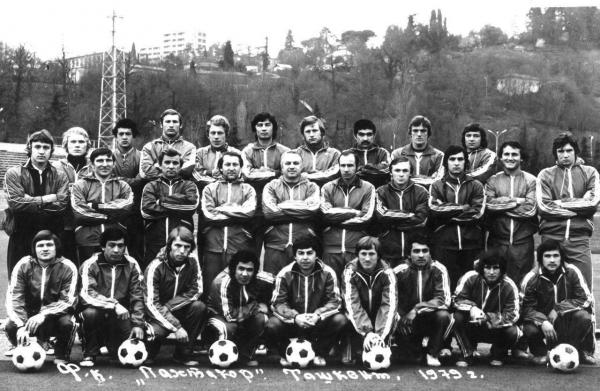 К 40-летию гибели футболистов «Пахтакора» будет снят документальный фильм и проведены мемориальные турниры