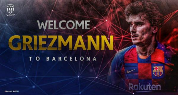Антуан Гризманн – официально игрок Барселоны! Но все ли так гладко? (видео)