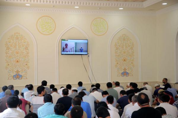 В мечети «Ат-Термизи» Алмазарского района внедрен сурдоперевод