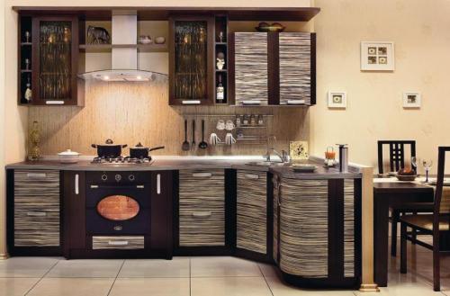 Стильные и оригинальные кухни