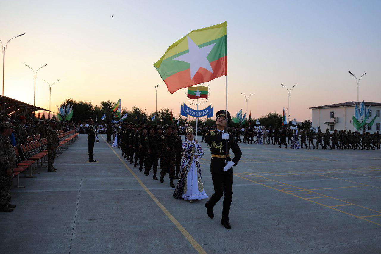 Впервые в Узбекистане стартовал международный конкурс «Военно-медицинская эстафета» - АРМИ 2019 (фото)