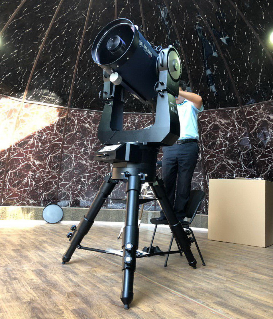 Американский телескоп подарили школе-интернату имени Мирзо Улугбека