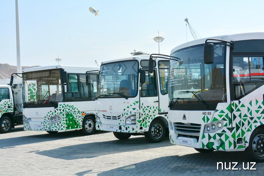 Узбекский автопром поставит 800 автобусов «Исузу» нефтяникам Туркменистана