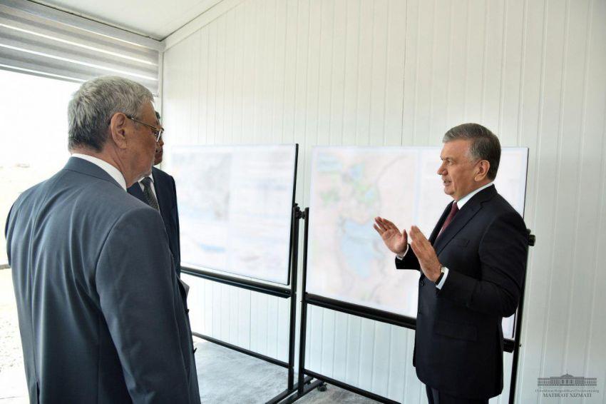 Шавкат Мирзиёев посещает Каракалпакстан