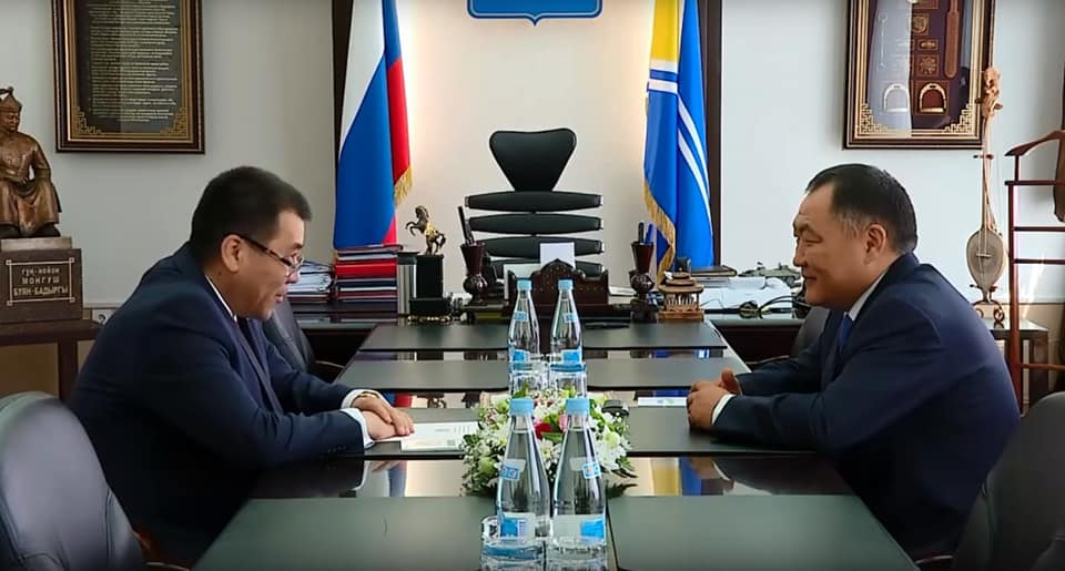 Глава республики Тыва принял Генконсула Узбекистана