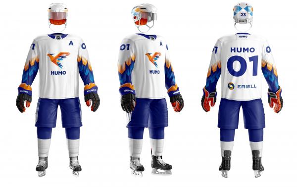 Хоккейный клуб «Хумо» выступит на чемпионате ВХЛ в новой форме