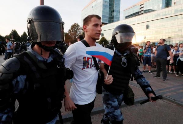 The National Interest (США): в Россию пришла цветная революция? Но это вряд ли