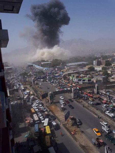 Столицу Афганистана снова потрясла серия терактов