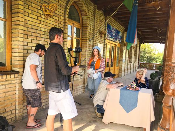 Украинская кинокомпания снимает в Ташкенте фильм о главном тренере погибшего «Пахтакора»