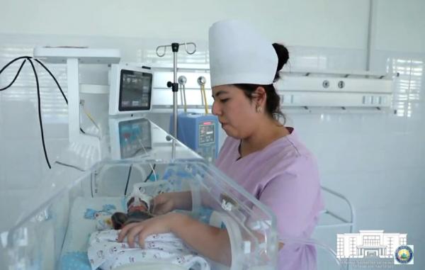 Ташкентский перинатальный центр попал в объектив пресс-службы хокимията (видео)