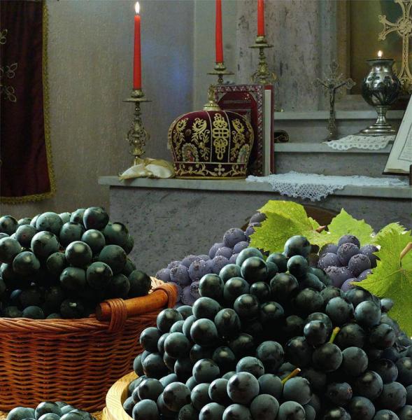 Посол Армении отведал узбекский виноград