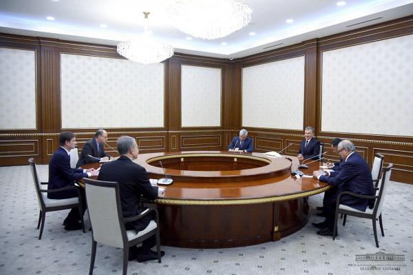 Президент принял заместителя Государственного секретаря США Дэвида Хейла