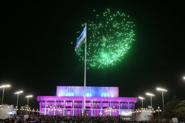 Салют, народные гуляния и творческие вечера: как в Ташкенте отпразднуют 28-летие независимости Узбекистана