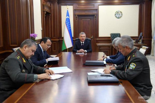 Президент провел совещание, посвященное совершенствованию системы охраны и защиты границы
