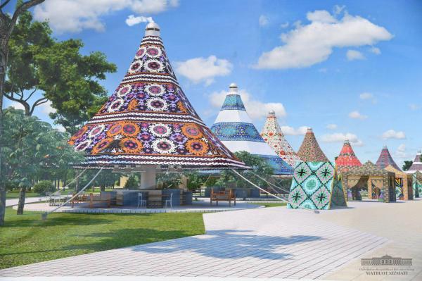 Шавкат Мирзиёев осмотрел открывающийся парк «Навруз» (фото)