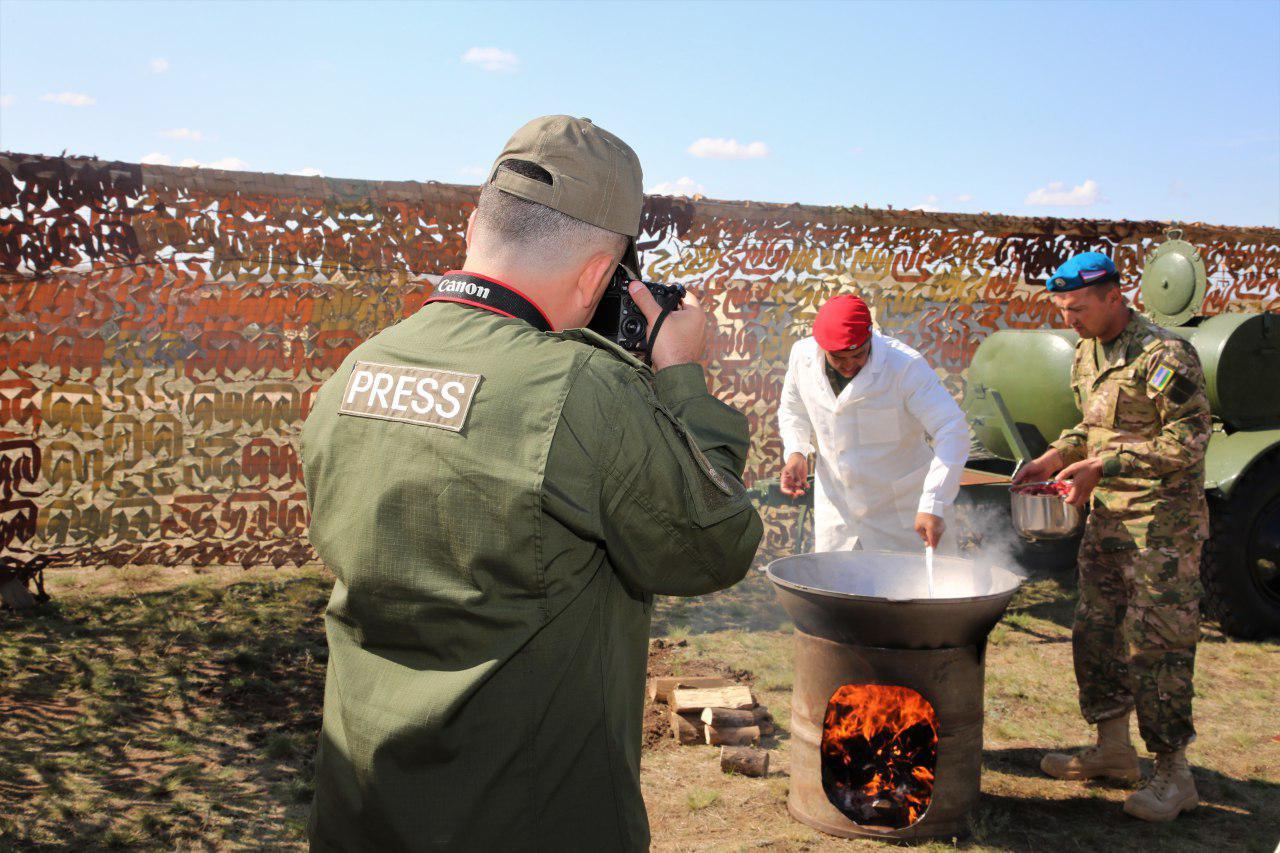 Военные Узбекистана обживают полигон Донгуз в Оренбургской области