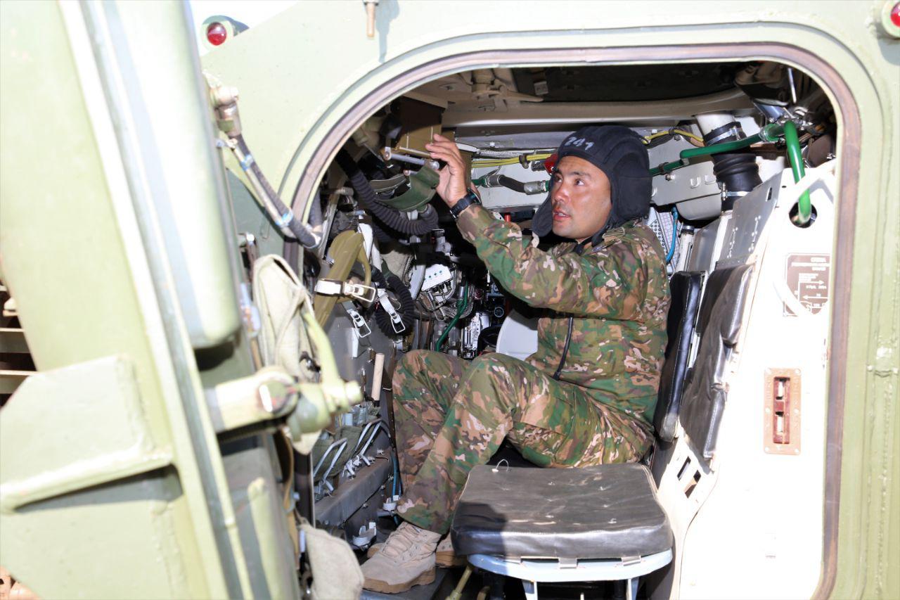 Армейцы Узбекистана оказались сильнее всех в состязаниях по перетягиванию каната (фото, видео)
