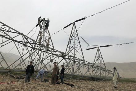 Боевики оставили без электричества из Узбекистана 11 провинций Афганистана