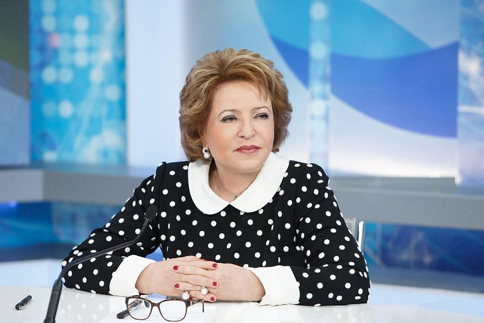 Валентина Матвиенко посетит Узбекистан