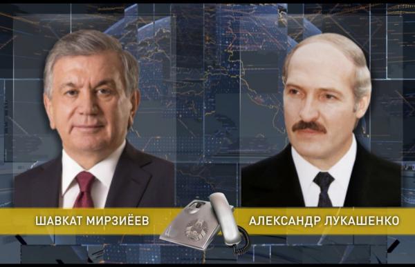 Главы Узбекистана и Белоруси  обменялись поздравлениями