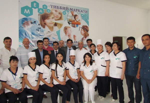 Современное и своевременное лечение, не покидая Узбекистан!