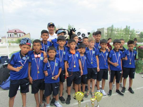 Девятилетние футболисты Самарканда стали победителями международного турнира в Болгарии