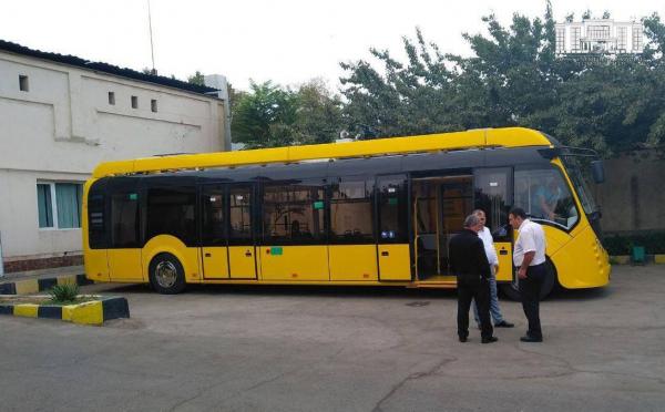 В Ташкенте начались испытания белорусского электробуса